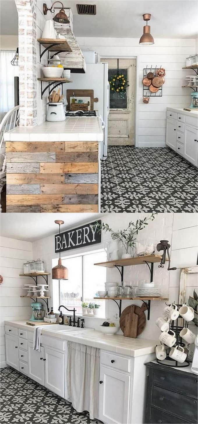 Alternative Küchenschränke 30 Best Diy Shiplap Wall And Pallet Wall Tutorials And Beautiful