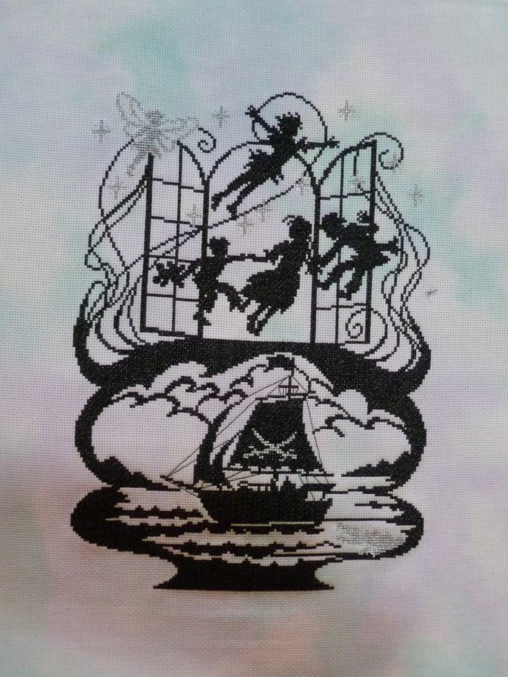 Bothy Threads Fairy Tale range - Peter Pan