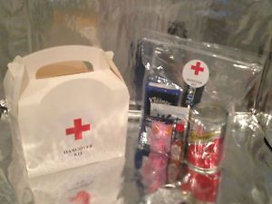 Great Idea Hangover Kit Gift - White - For Hen Party, Bridal Party, Stag Do, Grooms Party & Wedding Guests
