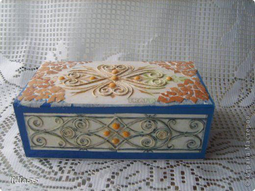 Добрый день Страна Мастеров и Мастериц!!!представляю на ваш суд очередную коробочку,выполненную в технике пейп арт Тани Сорокиной http://stranamasterov.ru/node/308701  фото 9