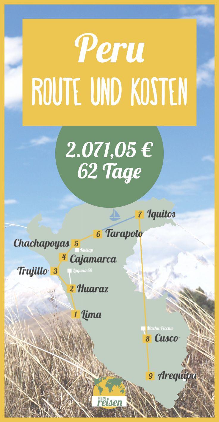 ✈ Peru • Route & Kosten für eine individuelle Rundreise