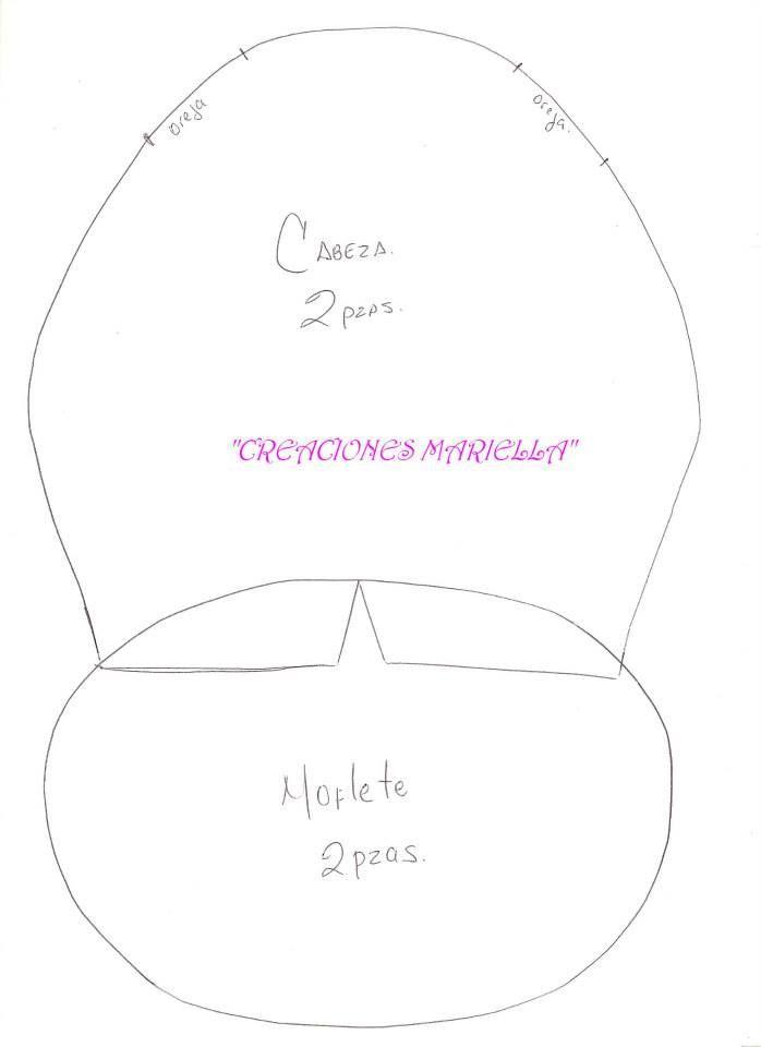 molde de reno colgante 6