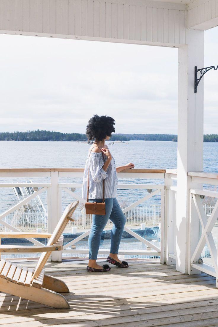 #ElaishaGoes: to The Viamede Resort: A Sweet Escape Afro hair travel blog Peterborough Ontario