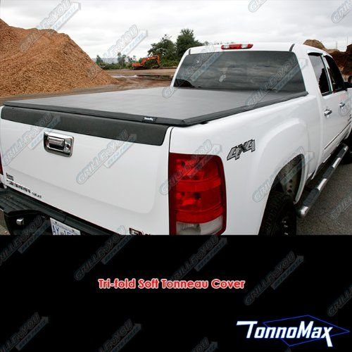 TonnoMax TC-MTF26 6.2' Soft Tri-Fold Tonneau Cover for Toyota Tundra Access Cab. For product info go to:  https://www.caraccessoriesonlinemarket.com/tonnomax-tc-mtf26-6-2-soft-tri-fold-tonneau-cover-for-toyota-tundra-access-cab/