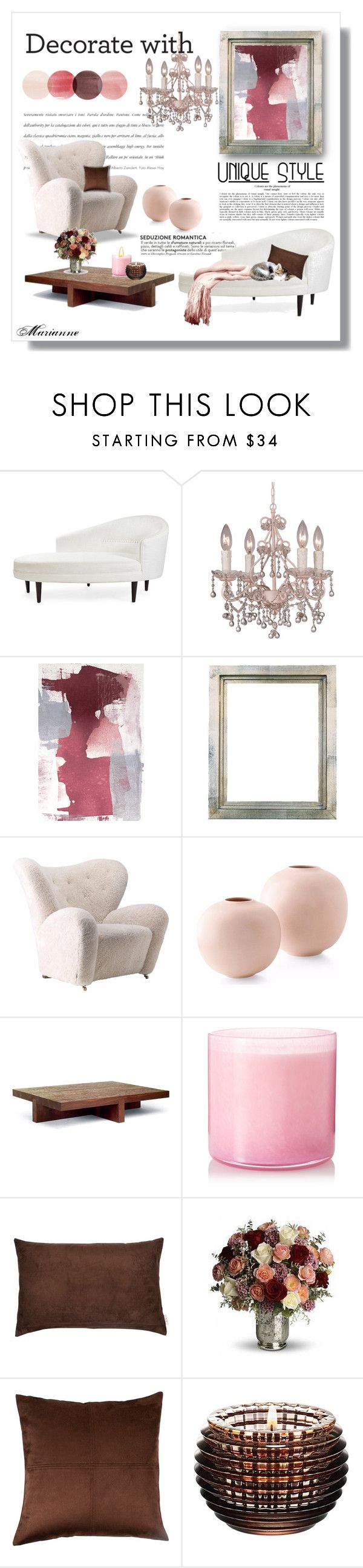 """Home 7"" by marianne-spiessens on Polyvore featuring interior, interiors, interior design, home, home decor, interior decorating, Jonathan Adler, Crystorama, Linteloo and LAFCO"