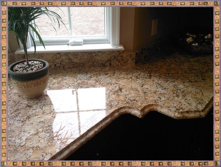 Least Expensive Stone Countertops : Ideas about granite edges on pinterest french
