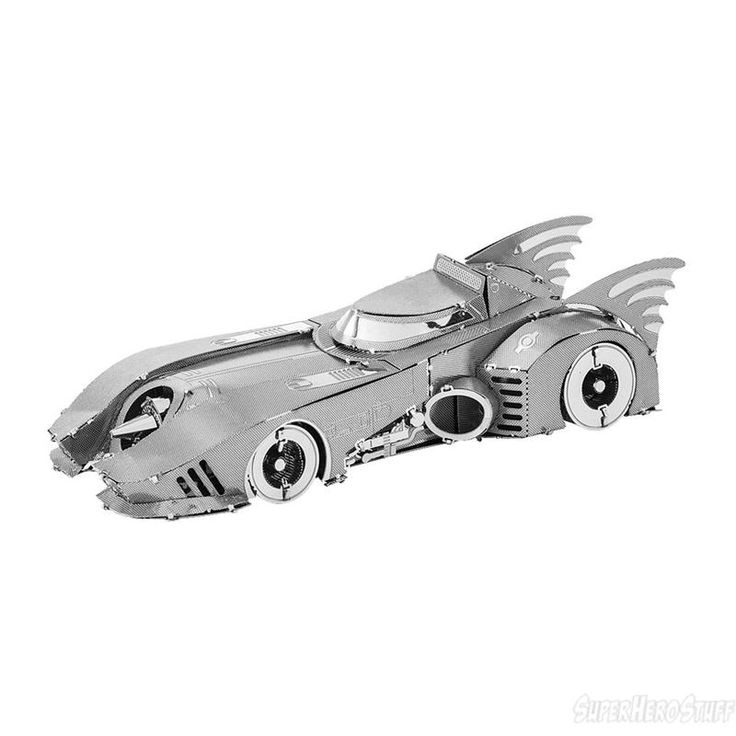 Batman 1989 Batmobile Metal Earth Model Kit