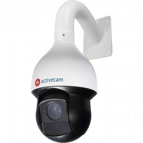 ActiveCam AC-D6144IR10 AC-D6144IR10 ActiveCam AC-D6144IR10 - скоростная (до 400°/с) поворотная IP-видеокамера является наиболее функциональным решением для организации профессионального видеонаблюдения на крупном объекте. Модель оборудована 4Мп CMOS-сенсором и мегапиксельным трансфокатором с АРД и возможностью 30-кратного оптического увеличения, что в совокупности позволяет четко фиксировать все детали сцены и при необходимости масштабировать изображение, получая максимальную детализацию…