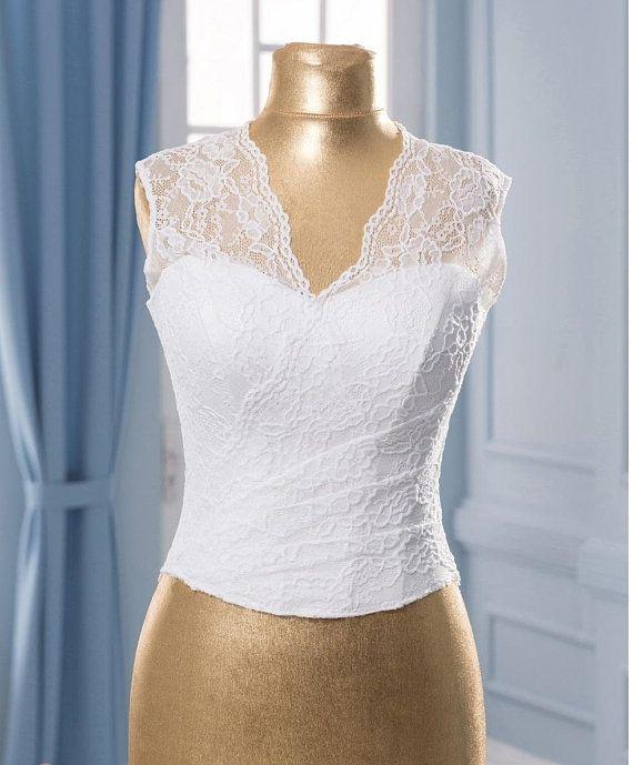 Corset Wedding Separate White Wedding Corset Lace Corset Etsy In 2020 Bridal Tops Wedding Separate Wedding Corset