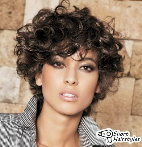 Curled Short Hair Styles Best 25 Short Curly Hairstyles Ideas On Pinterest  Easy Curly .