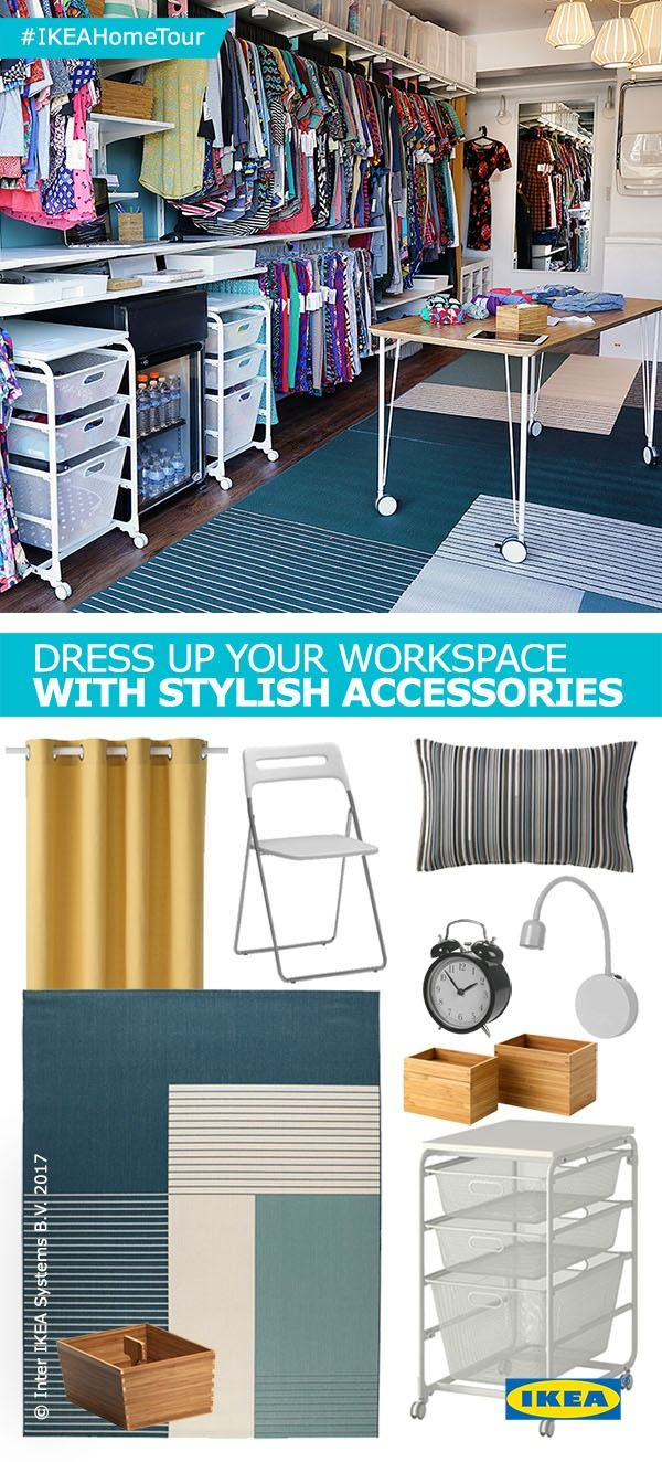Dress Up Your Workspace With Tips And Tricks From The IKEA Home Tour Squad Their