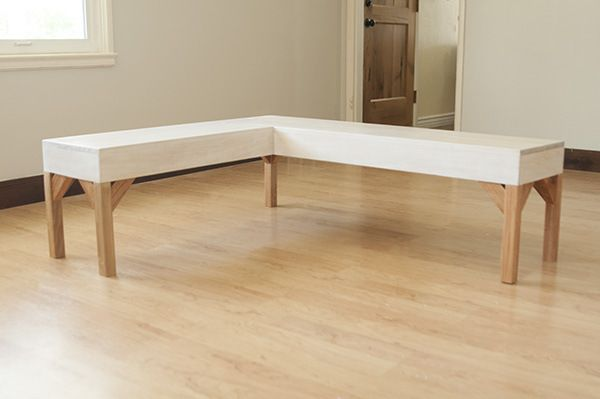 Diy Corner Bench Kitchen Table Novocom Top