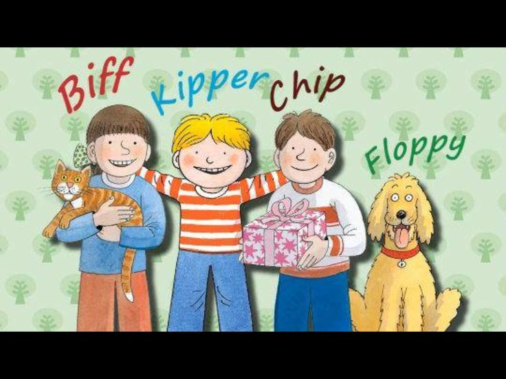 Biff, Kipper, Chip and Floppy <3