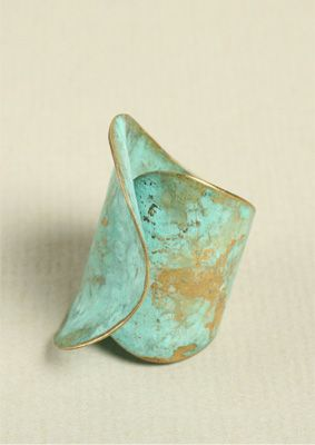 Sea Ring: Cool Rings, Sea Rings, Pretty Rings, Copper Rings, Styles, Turquoi Rings, Rings I Love, Turquoise Rings, Aqua Rings
