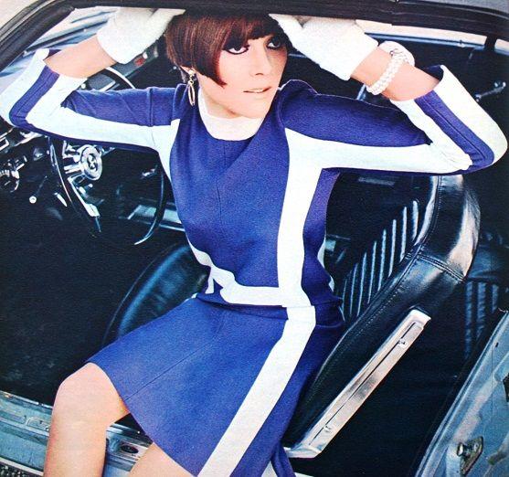 Photo Paul Huf, Avenue (Dutch) January 1966: 1960 S Fashion, Mod Girls, Fashion 1960S, Paul Huf, Racing Stripes, Photo Paul, Dresses, 1960S Fashion, 1960S Mod Fashion