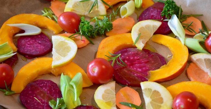 Grilovaná zelenina na plechu - Receptik.sk
