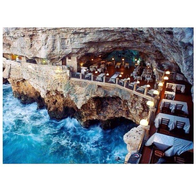 Must visit this restaurant - Gotta Palazzese, Puglia, Italy