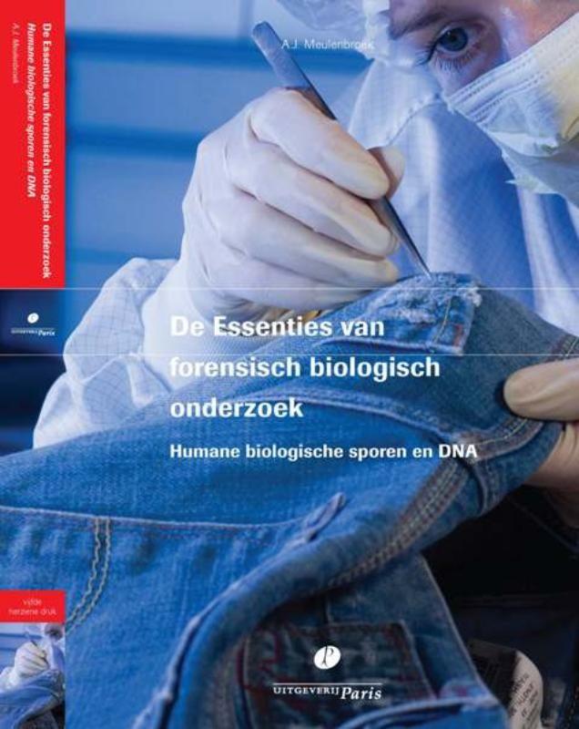 """De essenties van forensisch biologisch onderzoek.  Deze uitgave is de opvolger van de vierde druk van het sinds 2006 door het Nederlands Forensisch Instituut (NFI) uitgegeven """"De Essenties van forensisch DNA-onderzoek"""" en is aanzienlijk uitgebreid. Alle hoofdstukken zijn geactualiseerd en er zijn twee nieuwe hoofdstukken (bloedspoorpatroononderzoek en DNA-verwantschapsonderzoek) en twee overzichtsartikelen toegevoegd. De Essenties wordt inmiddels gezien als een noodzakelijk standaardwerk…"""
