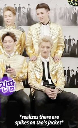 Section TV 150322 : Sehun's urge to touch Tao is strong (1/2)