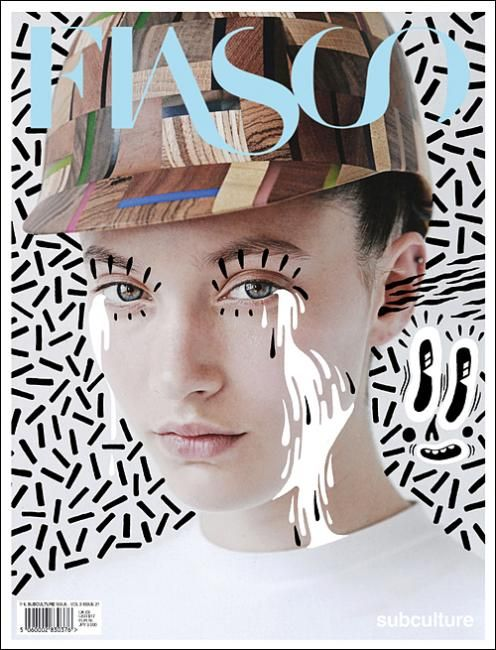 Fiasco magazine ~ illustrated by Hattie Stewart
