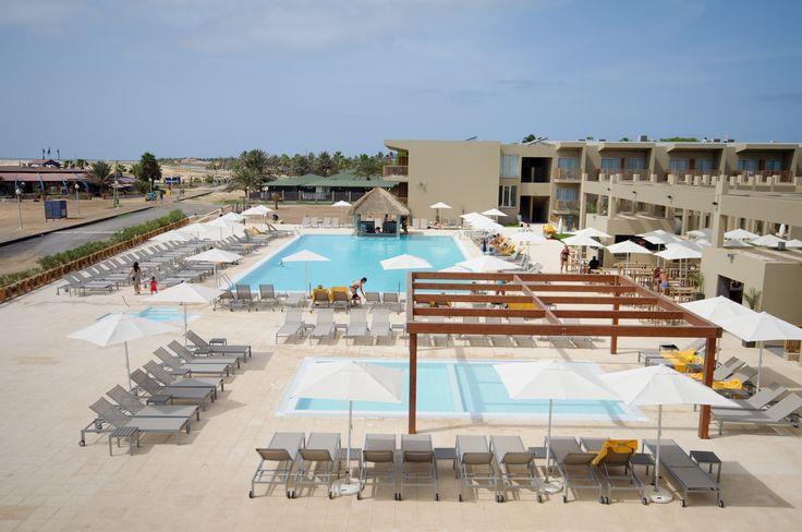 piscina crianças no Oásis Salinas Sea
