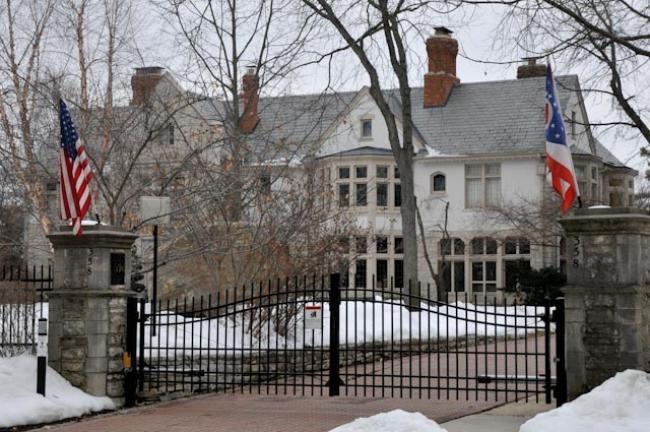 Current Ohio Governor's Mansion, Bexley, Ohio