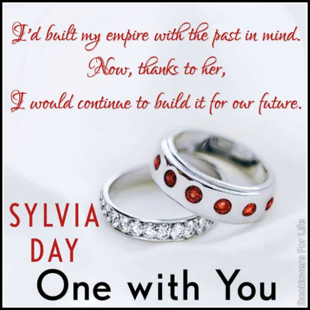 One with You (Crossfire #5) by Sylvia Day ♥ (Click to read my review) #book #quote