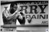 Larry Holmes - He reigned as world heavyweight boxing champion from June 1978 to September 1985. He successfully defended his title twenty times, more than any heavyweight champion except Joe Louis. His repertoire included a stiff left jab, powerful overhand right, and expert ring generalship.