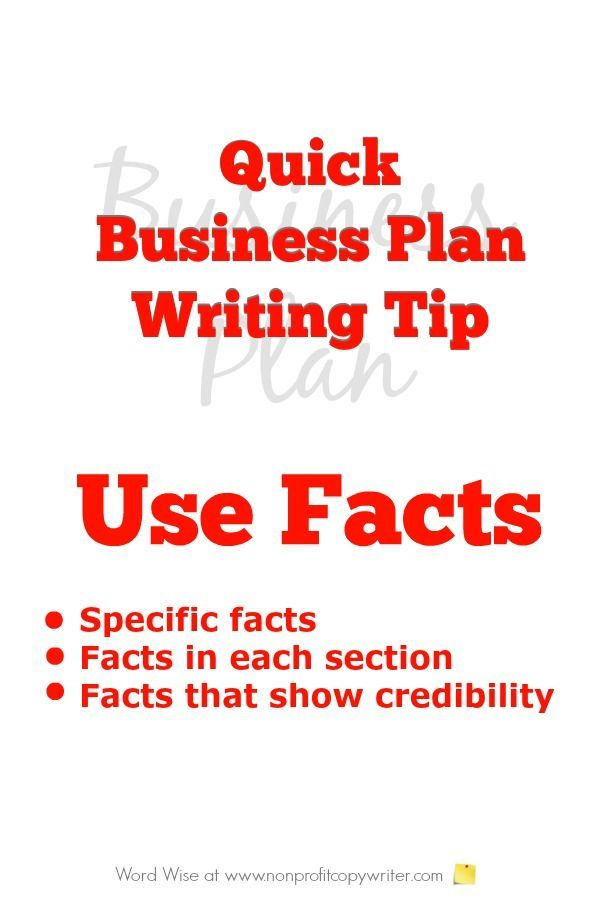 quick business plan writing tip business planning and business