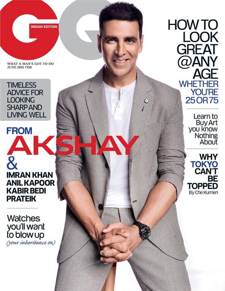 Akshay Kumar – GQ India (June 2015)