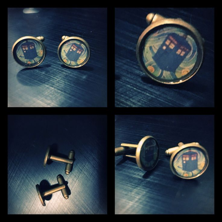 A personal favourite from my Etsy shop https://www.etsy.com/au/listing/512350043/tardis-cufflinks-doctor-who-cufflinks