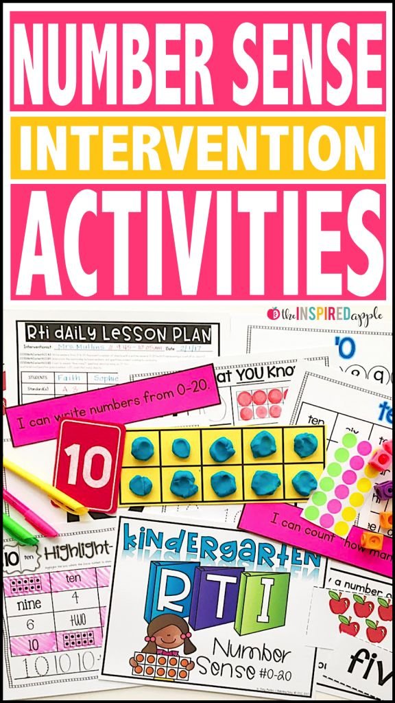 If you have students struggling with number sense, this comprehensive math intervention curriculum can be a great addition to your RTI or small group time! This resource can be used in so many different ways. It was initially designed with kindergarten RTI in mind, specifically to meet the needs of students struggling with number sense. …