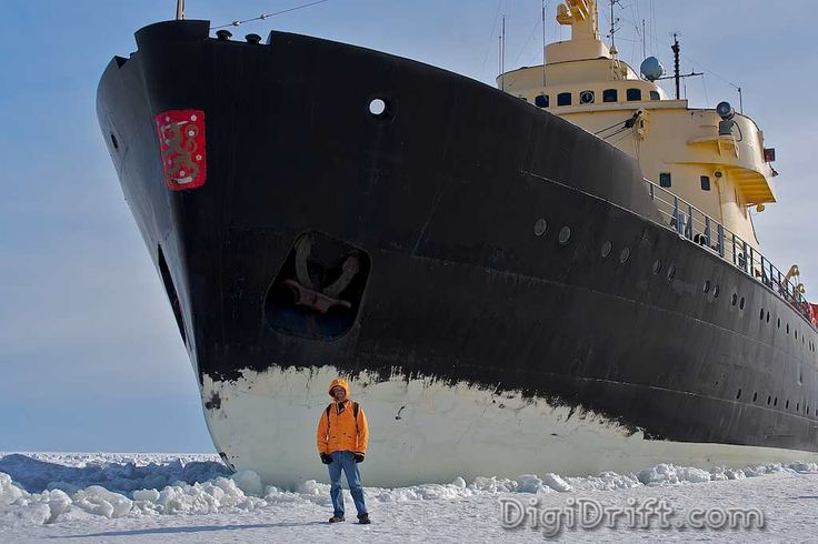 Finland is heavily dependent on its ice breaker fleet. Finland is one of a very few countries whose ports are all ice bound in a normal winter. The fleet of 9 ice breakers keep more than half of Finland's ports open all winter long.