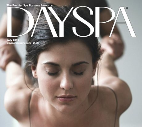Air Aroma featured in DAYSPA magazine this month