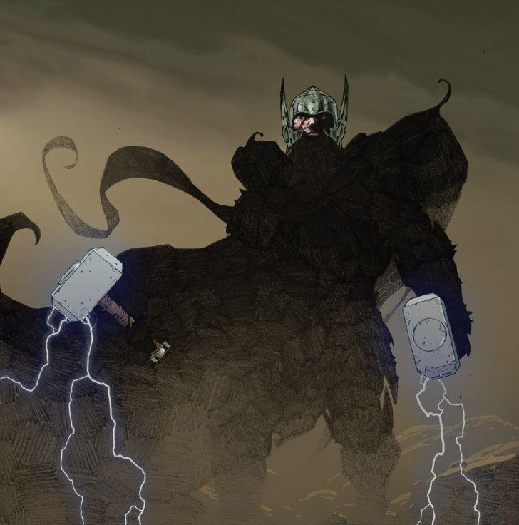 Thor God of Thunder Esad Ribic