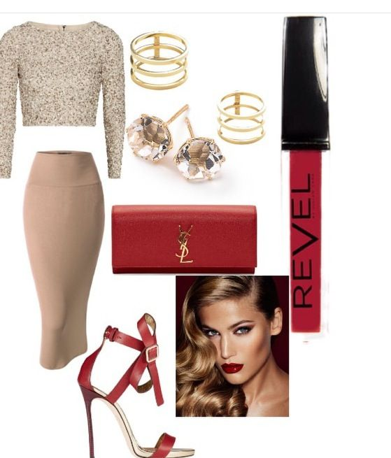 A #REVELGirl get's Sassy when it's time to hit the town with her boo!! Our date night look by @julianlark to rock with our #Scandal Lip Stain #revelbyjl