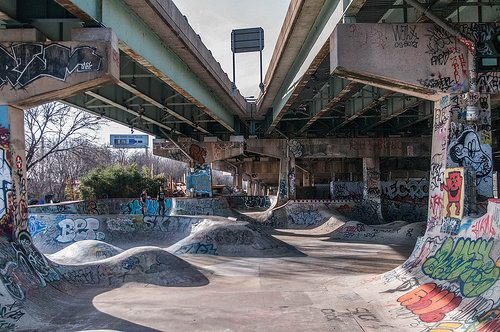 NEW SAVANNA: FDR Skate Park in Philadelphia