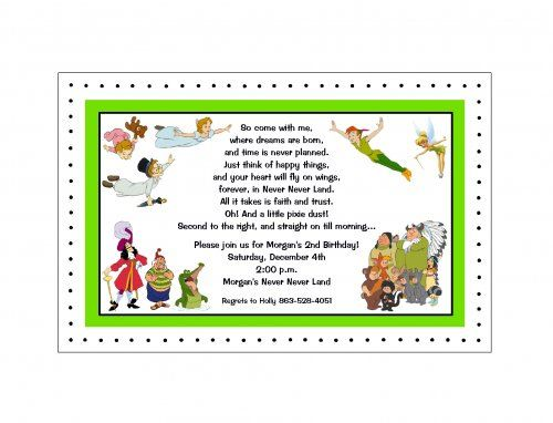 Peter Pan / Tinkerbell party