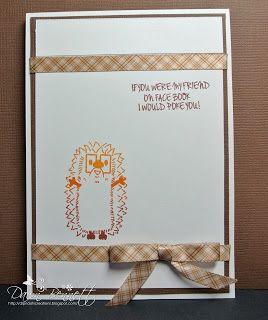 Such a cute card designed by Dip 'n Dots Creation; love the nerdy hedgehog!