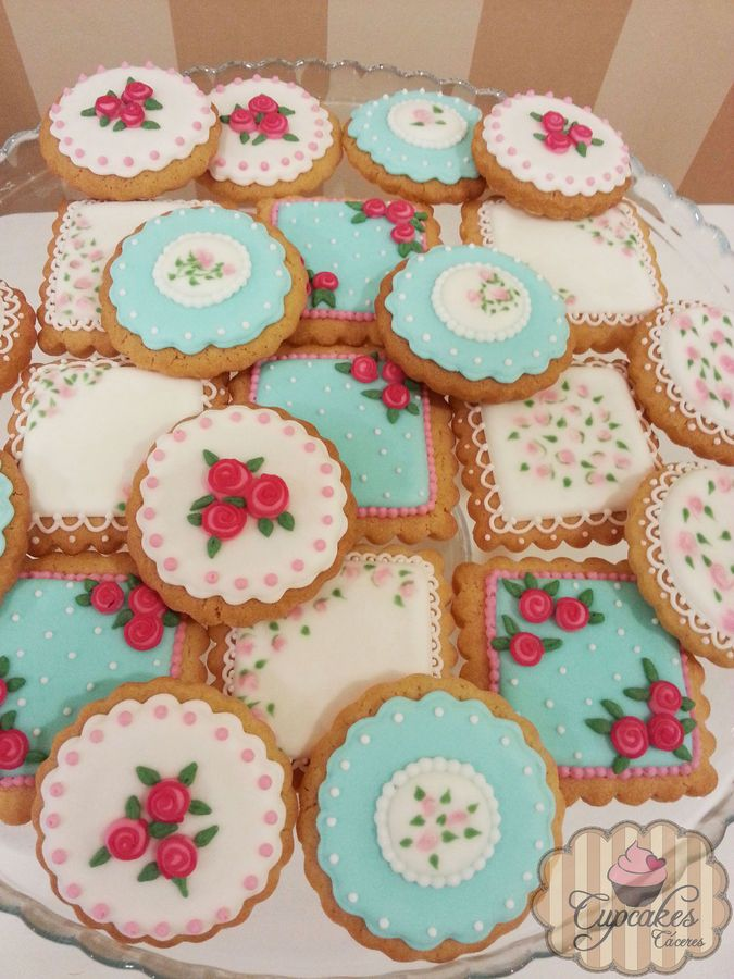 Shabby Chic cookies