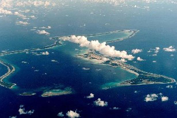 US Navy Support Facility at Diego Garcia, British Indian Ocean Territory