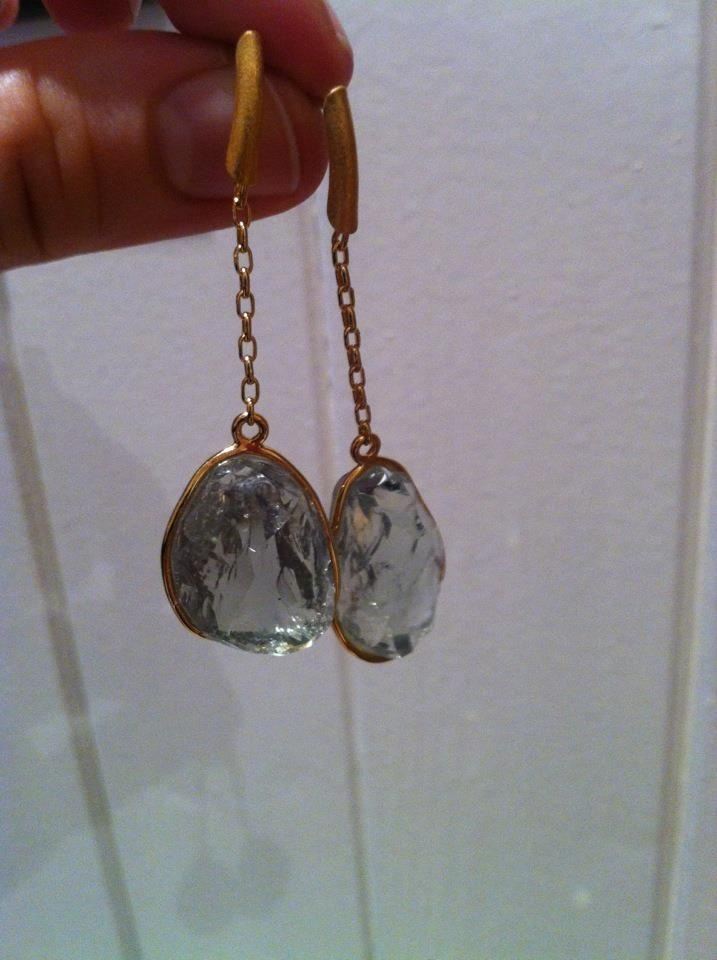South African earrings from Silk Road Jewels