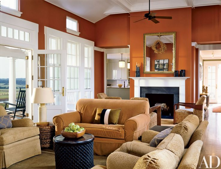 How To Decorate With Orange Part 78