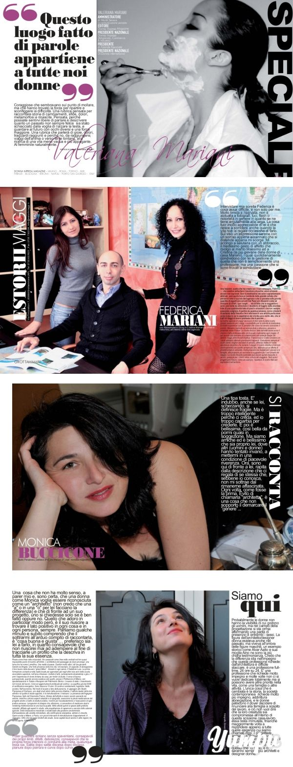 04 SPECIALE DONNA IMPRESA NOV... - Donna Impresa Magazine - Magazine with 7…