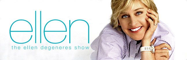 I would love to go to Ellen's show, especially during the 12 Days of Christmas.