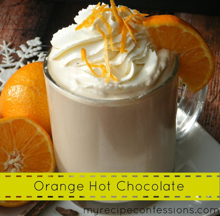 orange hot chocolate hot chocolate recipes orange peel coffee drinks ...