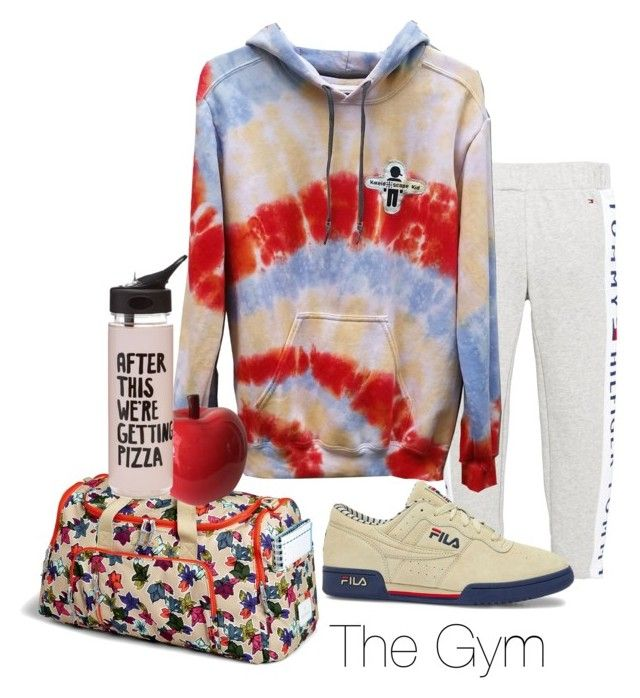 """""""The Gym is calling"""" by kaleidoscopekidco on Polyvore featuring Tommy Hilfiger, Vera Bradley, Fila and ban.do"""
