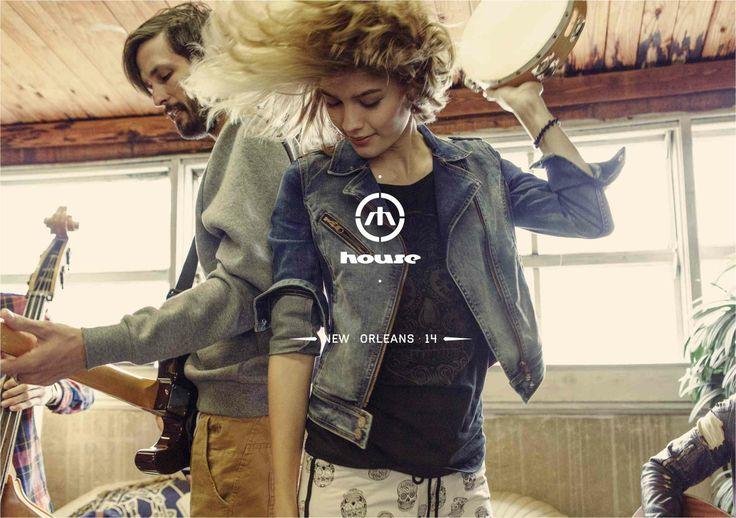 Sprawdź nową kampanię House SS14 NOLA  Kampania -> http://kampania.house.pl/#  Lookbook -> http://house.pl/lookbook/