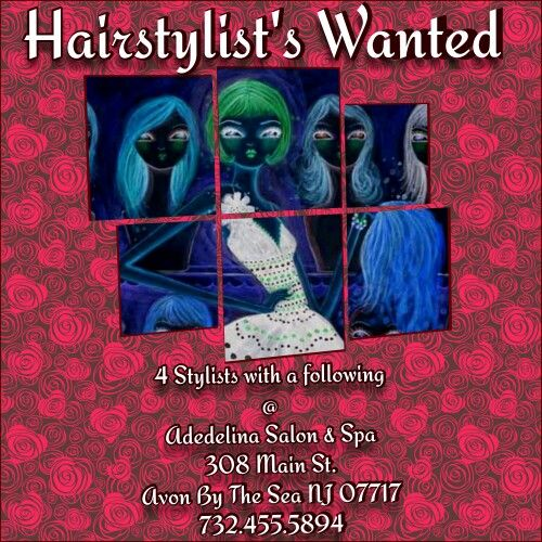 HELP WANTED | Adelina Salon & Spa | Pinterest | Salons, Help wanted and Spa