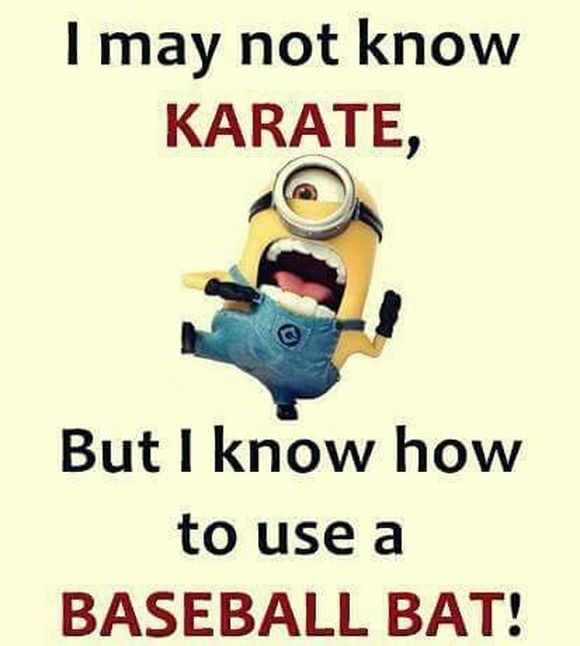 Yes!!! Watch your back criminals... And I have a metal baseball bat ;-)